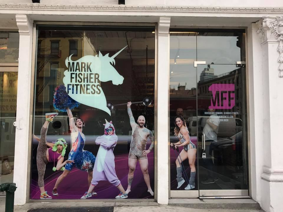 Mark Fisher Fitness Bowery Storefront