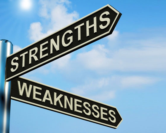 should you work on your strengths or weaknesses