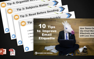 Done-For-You Presentation: 10 Tips to Improve Your Team's Email Etiquette