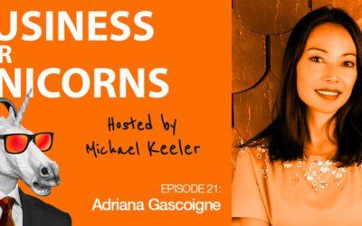 Episode 21: Empowering Girls in Tech with Adriana Gascoigne