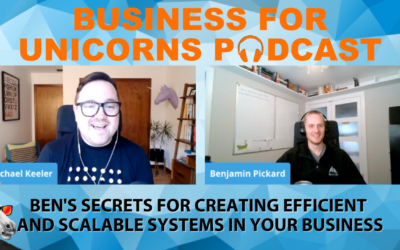 Episode 56: Ben's Secrets for Creating Efficient and Scalable Systems in Your Business