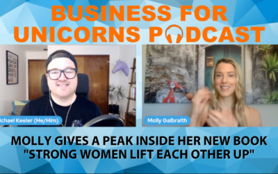 """Episode 64: Molly Gives a Peak Inside her New Book """"Strong Women Lift Each Other Up"""""""