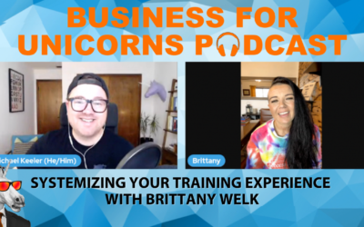 Episode 80: Systematizing Your Training Experience with Brittany Welk