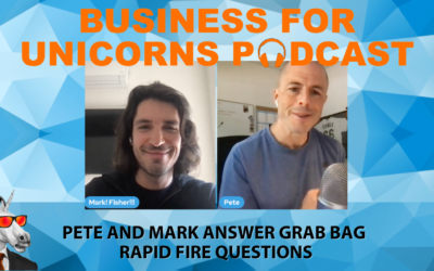 Episode 91: Pete and Mark Answer Grab Bag Rapid Fire Questions