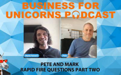 Episode 92: Pete and Mark Answer Rapid Fire Questions Part Two